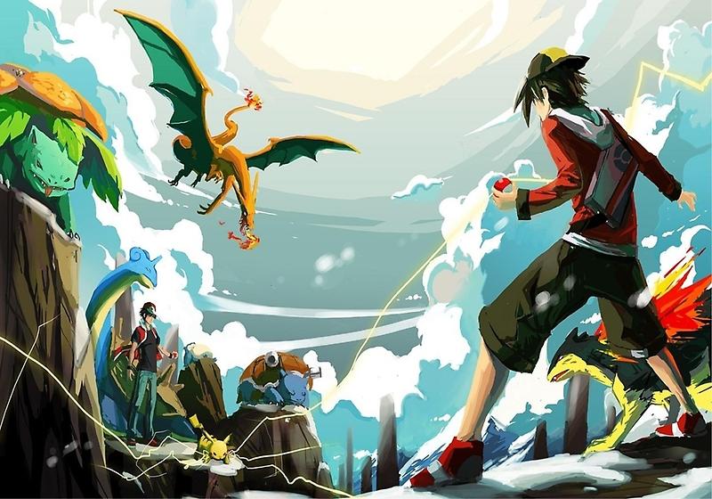 Pokemon Battle by ImKyleSup