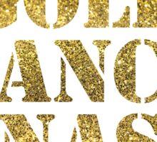 Gold Dance Dynasty Sticker