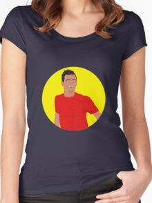 Philippe Coutinho Vector Women's Fitted Scoop T-Shirt