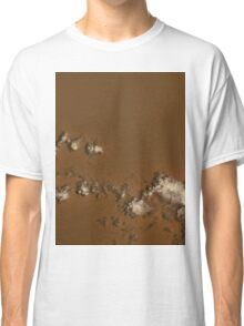 Clouds Over Rub al Khali Desert Saudia Arabia Satellite Image Classic T-Shirt