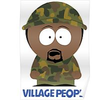 Village People VS South Park - Soldiers Poster