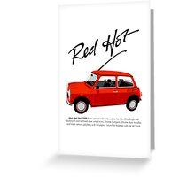 Classic 1988 Mini Red Hot Greeting Card