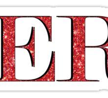 Red Aero Sticker