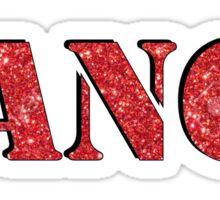 Red Dance Sticker