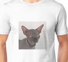 Rock black sphynx cat Unisex T-Shirt