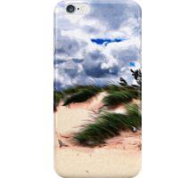 Sandy Beach Dune Grass iPhone Case/Skin