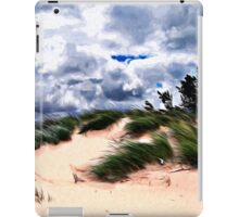 Sandy Beach Dune Grass iPad Case/Skin