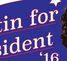 Dustin 4 Pres Sticker