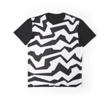 Polynoise BW Graphic T-Shirt