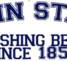 Penn State Crushing Beers Sticker