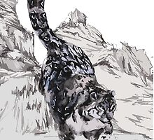 Snow Leopard by Toucano