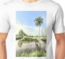 the tropical view Unisex T-Shirt