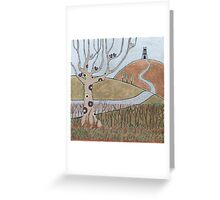 One Tor Hill Greeting Card