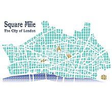 The Square Mile - Digital Photographic Print