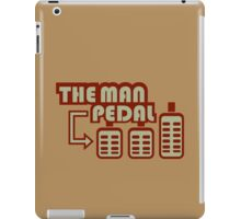The Man Pedal (4) iPad Case/Skin