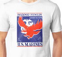 WWII Always Faithful, US Marines Unisex T-Shirt