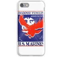 WWII Always Faithful, US Marines iPhone Case/Skin