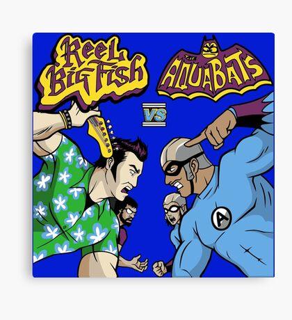 Ska Punk Battle Canvas Print