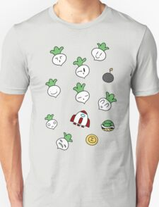 SMB2 Turnips and Items Unisex T-Shirt