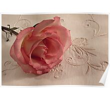 The Beauty Of Just One Rose  Poster