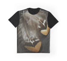 Pheasant Hen Feathers Graphic T-Shirt