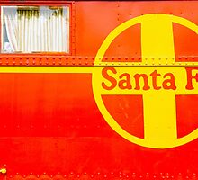Old Santa Fe Red by ©  Paul W. Faust