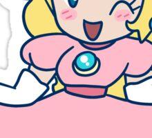 Princess Peach Curtsy Sticker