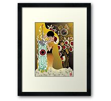 The Kiss() Framed Print