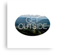 Get Outside Canvas Print