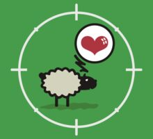 Sheep in Love VRS2 Kids Clothes