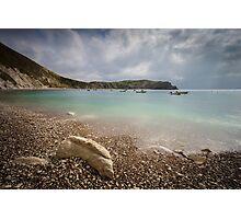 Lulworth Cove in Dorset, England UK Photographic Print