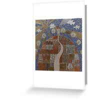Little House On A Hill Greeting Card
