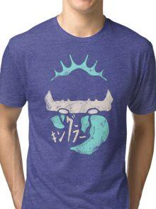 Kingler (blue old) Tri-blend T-Shirt