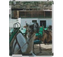 Working Camels iPad Case/Skin