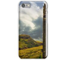 Holyrood and Arthur's Seat iPhone Case/Skin