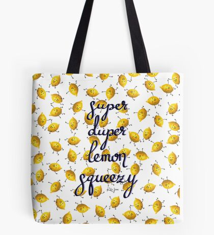 Super Duper Lemon Squeezy Tote Bag