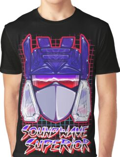 Soundwave Superior Graphic T-Shirt
