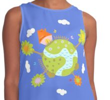 green planet Contrast Tank