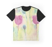 Poppies and Pods Graphic T-Shirt