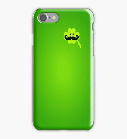 St Patrick: Irish Mustache VRS2 iPhone Case/Skin