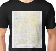 USGS TOPO Map Arkansas AR Bull Shoals 258085 1972 24000 Unisex T-Shirt