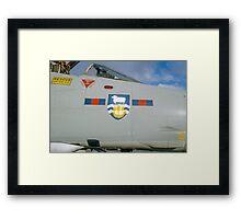 Falklands Crest on 23 Sqn Phantom Framed Print
