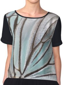 Natural Structure Chiffon Top
