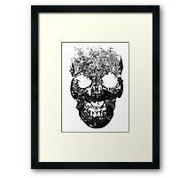 BLCK OVERMIND Framed Print