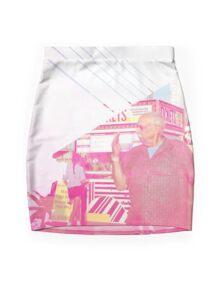 Wildwood Collage - highres Mini Skirt