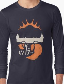 Kingler (orange) Long Sleeve T-Shirt