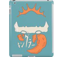 Kingler (orange) iPad Case/Skin