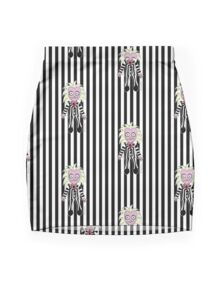Beetle Juice Mini Skirt