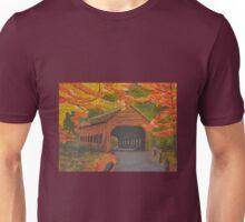 Autumn Bridge Unisex T-Shirt