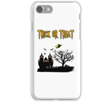 Halloween... Trick or Treat iPhone Case/Skin